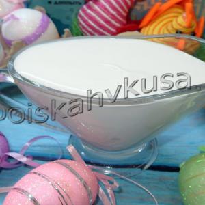 Глазурь для куличей на желатине