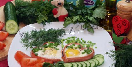 Романтический завтрак для влюблённых