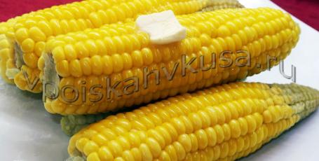 Вареная кукуруза. Как варить кукурузу