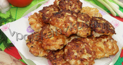 Растрепки из куриного филе с сыром