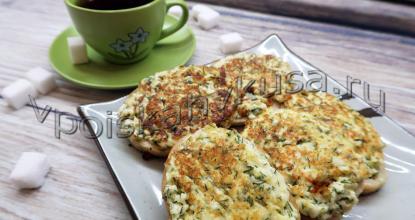 ГРЕНКИ с сыром, яйцом и зеленью. Вкусный и быстрый завтрак