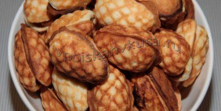 Печенье «Шишки» со сгущенкой