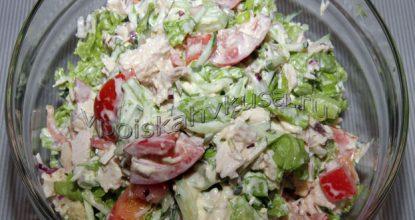 Салат из курицы «Комплимент»