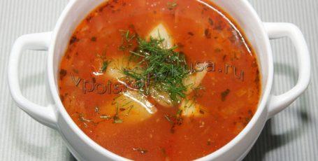 Суп с фасолью и индейкой