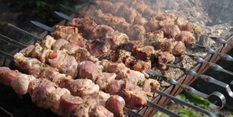 Шашлык острый из свинины